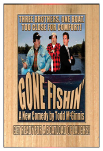 Gone Fishin' - large thumb WHT Border 232 X 340